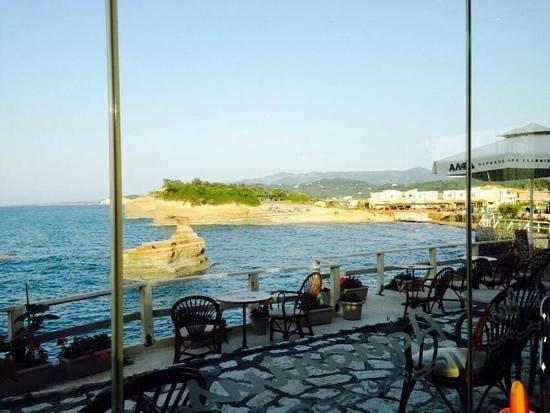 Kanali Hotel - Apartments: view from aquarius
