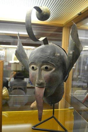Mittelalterliches Kriminalmuseum: Shaming mask.