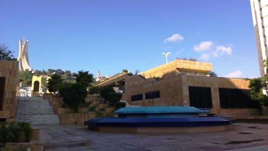Sofitel Algiers Hamma Garden : На улице рядом с отелем