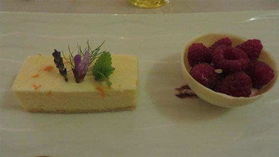 Manoir d'Hautegente : Un bon dessert