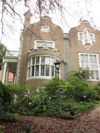 Olveston Historic Home: Olveston, Dining Room facade
