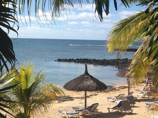 Beachcomber Le Canonnier Hotel: La plage