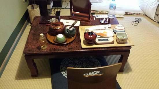 Inn Kawashima: Breakfast Inside the Room
