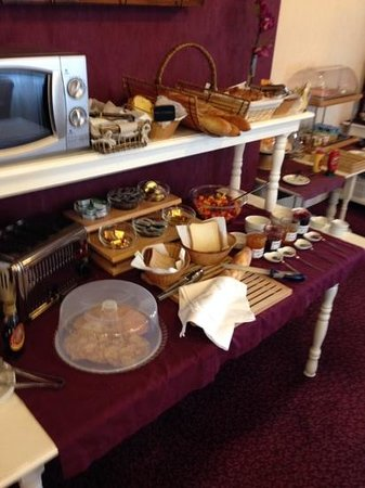 Hotel Saint Jean: ontbijt
