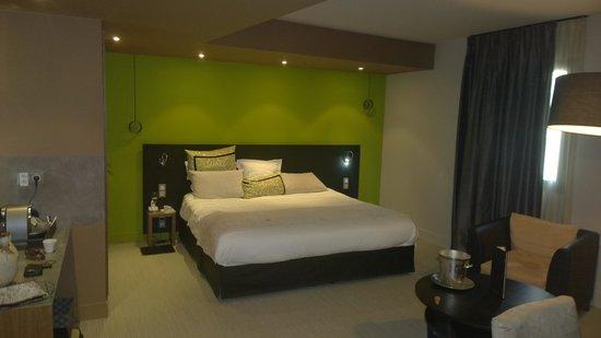 Ivan Vautier Hotel : Bed