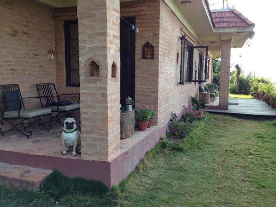Shivapuri Heights Cottages: The Veranda to the Jasmine Room