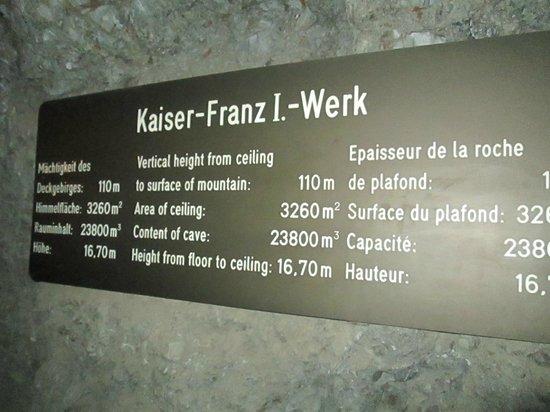 Berchtesgaden Salt Mines : salt mines