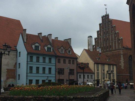 Old City Riga (Vecriga): Squares