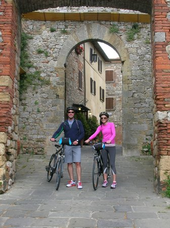 Cycling in Florence: Orcia Valley tour
