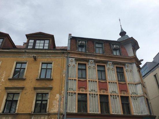 Old City Riga (Vecriga): Glorious colours