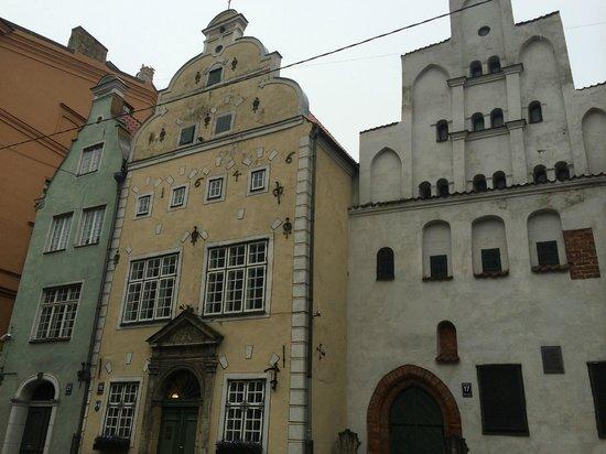 Old City Riga (Vecriga): The Three Brothers