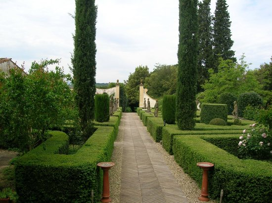 Cycling in Florence: The garden