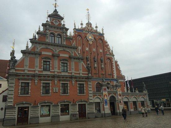 Old City Riga (Vecriga): House of the Blackheads