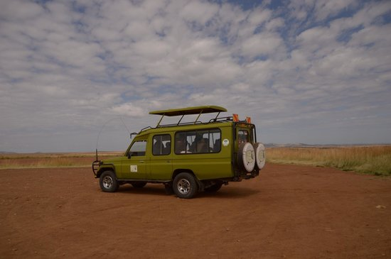 Africa Veterans Safaris - Day Tours: Our Safari Jeep