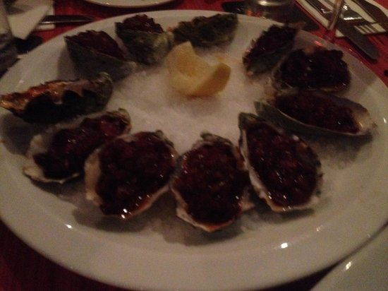 Provincial Restaurant: Oysters Kilpatrick -