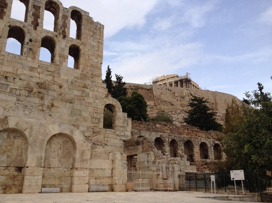 Herod Atticus Odeon: Odeum at foothill of the Acropolis