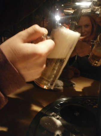 Berlin Food Tour: Pulling our own pint