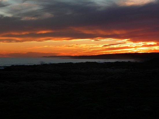 Cape St Francis Resort: Take a walk at sunset out behind lighthouse