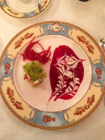 Restaurant Paul Bocuse : Another piece of art!