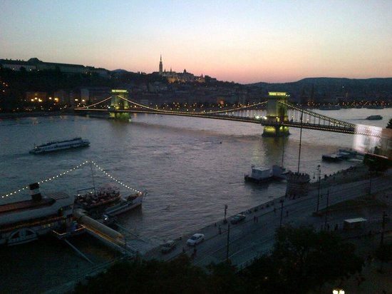 InterContinental Budapest: View from my room in July 2013