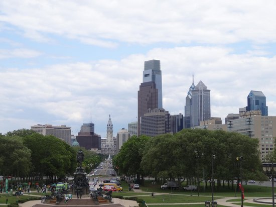 Museo de Arte de Filadelfia: Beautiful views over the city