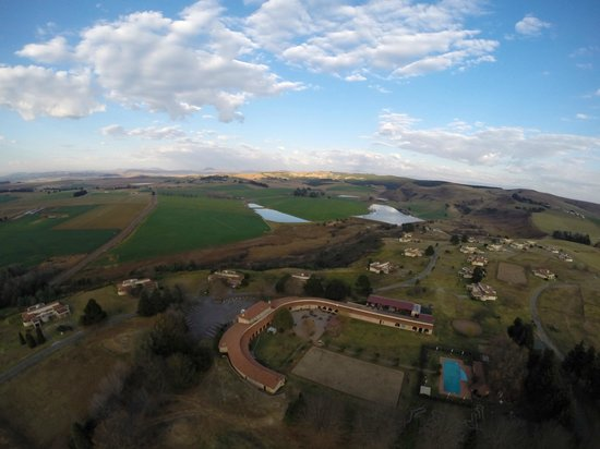 Midlands Saddle & Trout Resort: View of Midlands Saddle & Trout