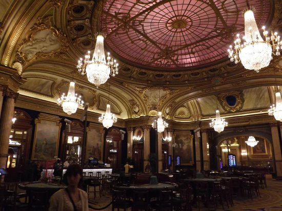 Casino of Monte-Carlo : Amazing decor