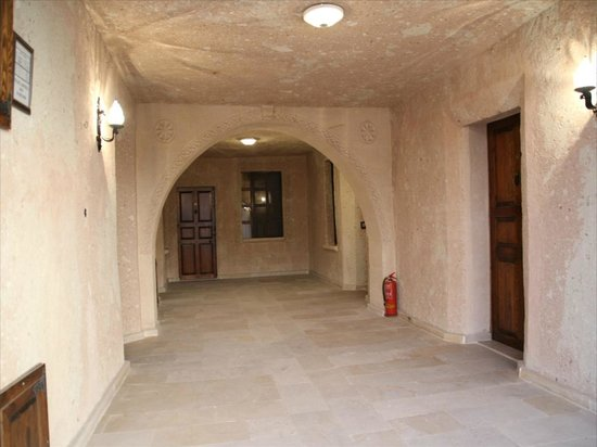 Alfina Hotel Cappadocia: 廊下
