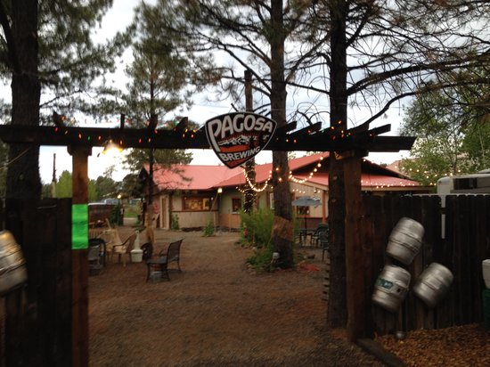 Entrance to Pagosa Brewing & Grill