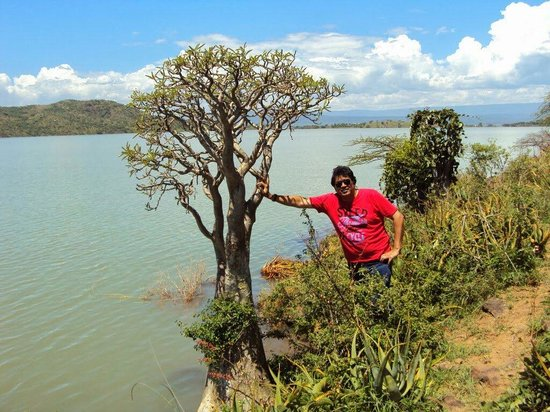 Lake Bogoria Spa Resort: Lake Baringo Island By Jack