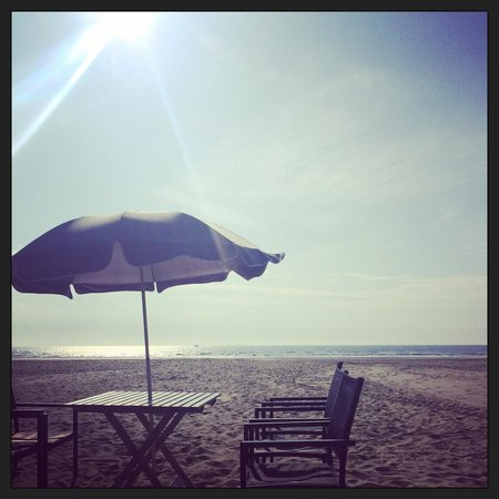 La Plage du Touquet : Beach bar