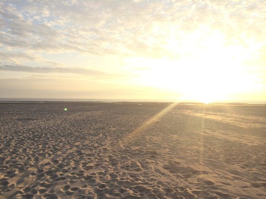 La Plage du Touquet : Sunset