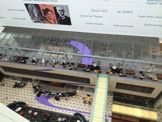 InterContinental Dusseldorf : View from 9th floor