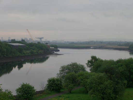 Erskine Bridge Hotel: View from our room