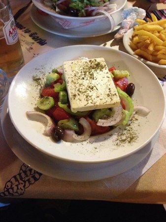Pizzeria Napoli Restaurant : Lovely Greek Salad