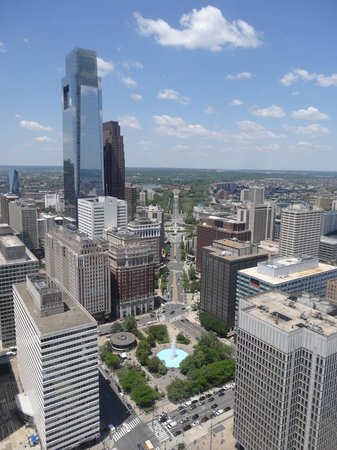 City Hall: The view from the observation deck