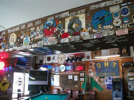 Oak Harbor Tavern: 'Museum' display