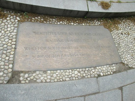 Alice in Wonderland Statue: Quote