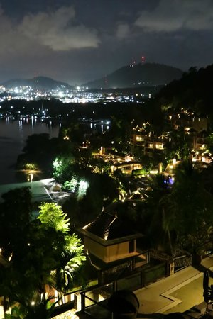 The Westin Siray Bay Resort & Spa Phuket: View of Phuket town fromthe distance