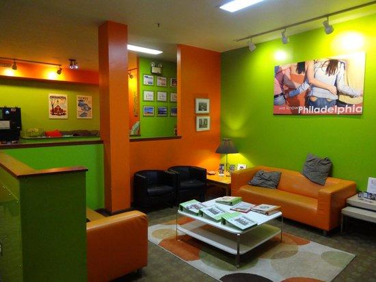 Apple Hostels Philadelphia : Lounge area