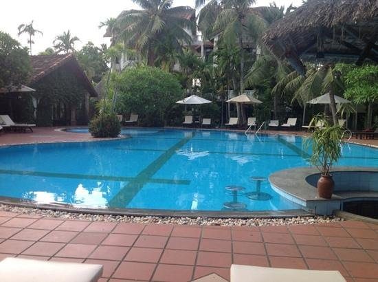 Hoi An Trails Resort: gorgeous clean and large pool