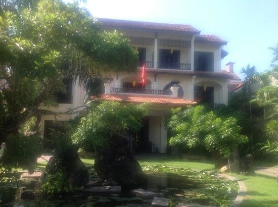 Hoi An Trails Resort : front of hotel