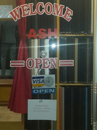 Ash Tailor Samui: Enterance of Ash Tailor.