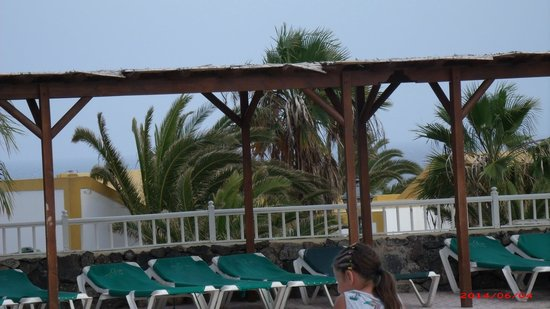 Caleta Dorada: pool