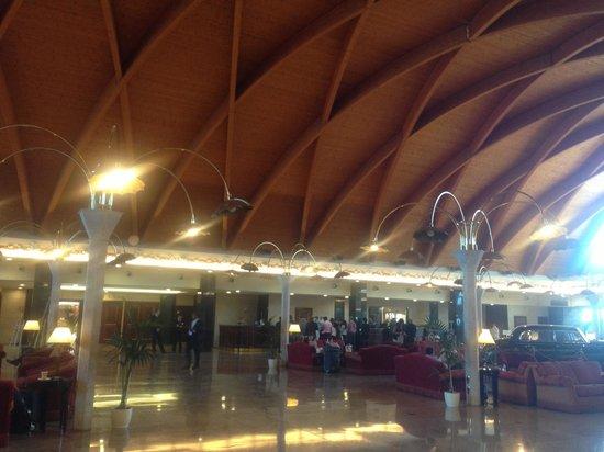 Rome Marriott Park Hotel: Reception view