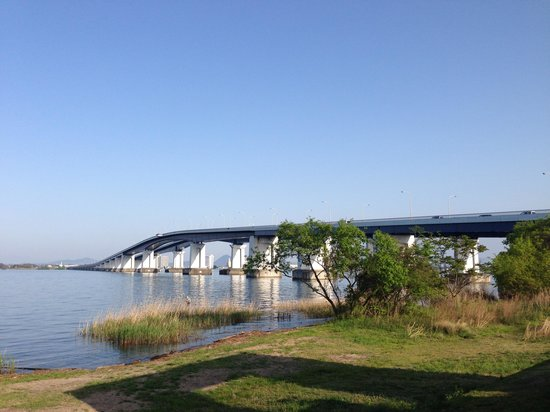 ‪Lake Biwa Bridge‬