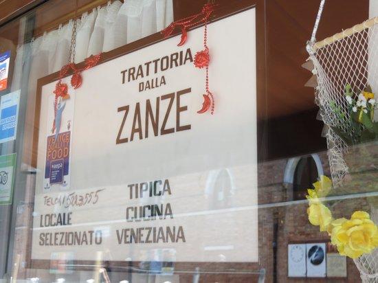 Trattoria dalla Zanze: La trattoria