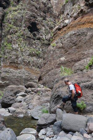 Masca Valley : devil rock