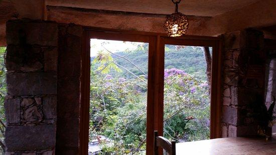 Flor de Acucena: sala do café da manhã