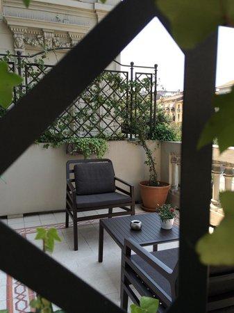 Grand Hotel Des Arts: La mia terrazza